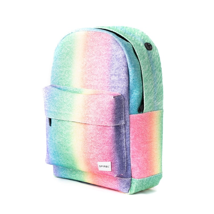Spiral OG Platinum Rainbow Crystals Backpack