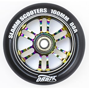 Slamm 100mm Orbit Scooter Wheel - Neochrome