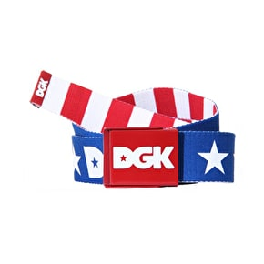 DGK Proud 2 Be Belt - Red/White/Blue