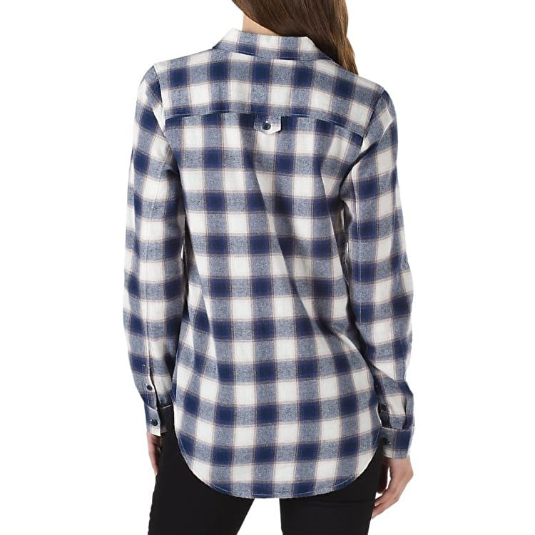 Vans Meridian Womens Flannel Shirt - Marshmallow