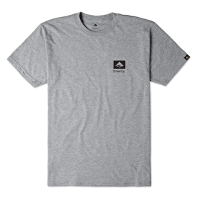 Emerica Brand Combo T-Shirt - Grey Heather