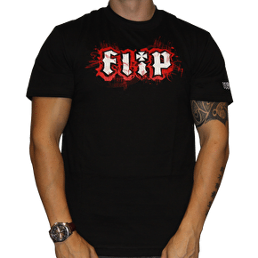 Flip T-Shirt Scratch - Black