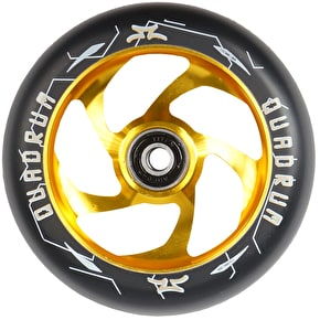AO Scooters Quadrum 110mm Scooter Wheel - Gold