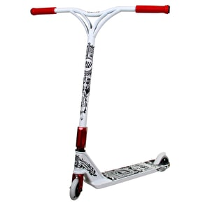 District Custom Scooter - Cam Ward White/Red