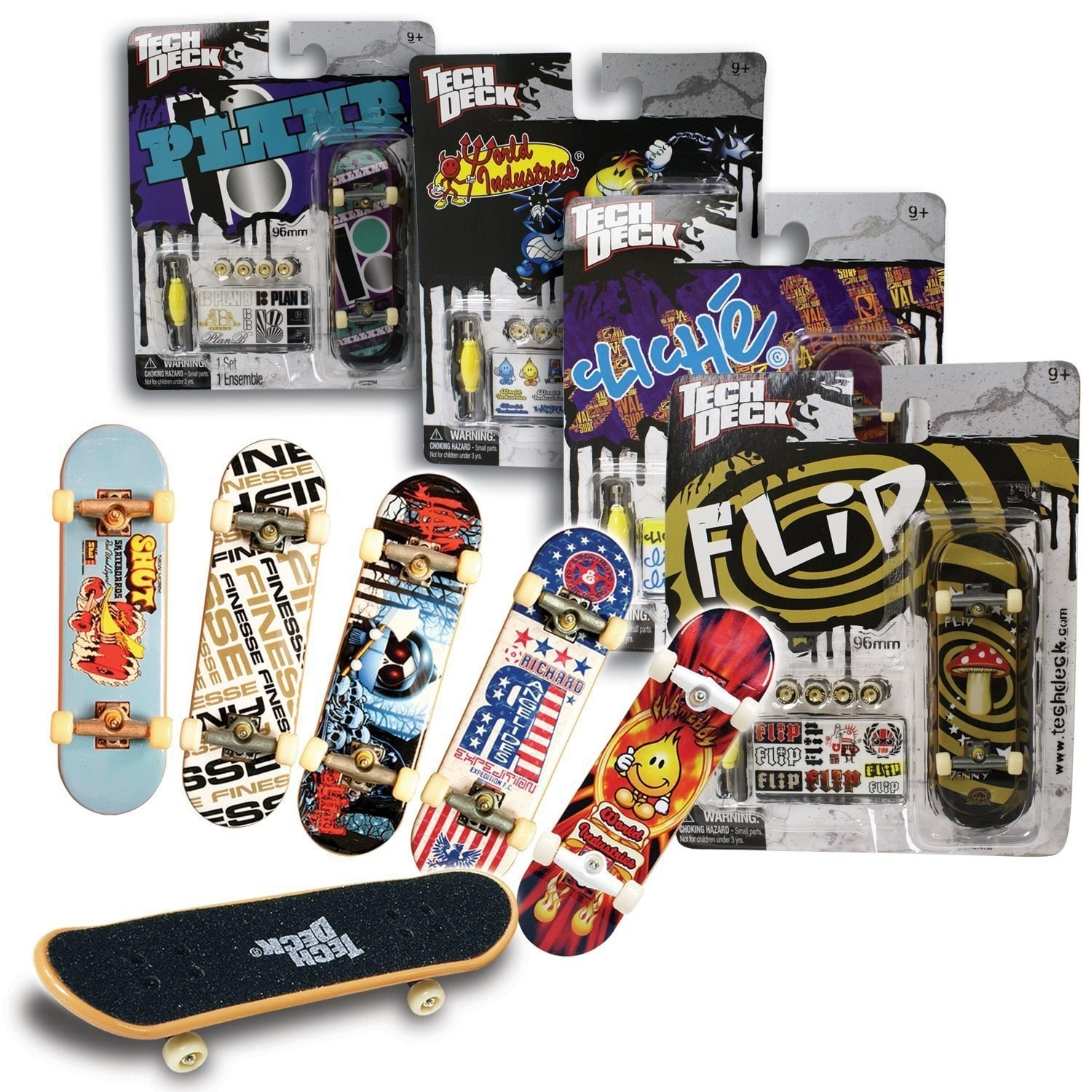 Tech Deck Skateboard Toy  Single  1 x Random Design
