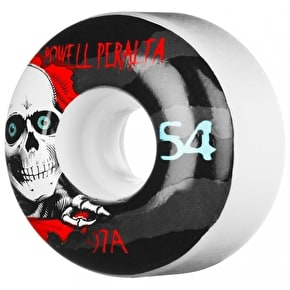 Powell Peralta Skateboard Wheels - Ripper II White 54mm 97a (Pack of 4)