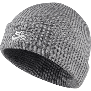 Nike SB Fisherman Beanie - Grey Heather