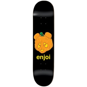 Enjoi Skateboard Deck - Pumpkin Spice R7 Black 8