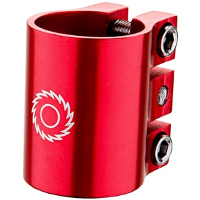 Razor Pro Triple Head Clamp - Red