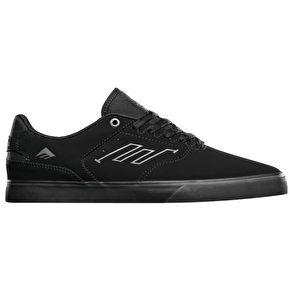 Emerica The Reynolds Low Vulc Shoes - Black/Black/Black