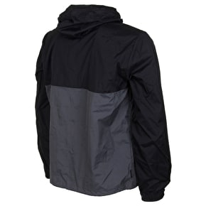 Element Hooded Coaches Jacket - Flint Black