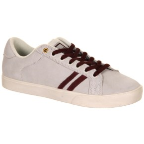 Emerica The Leo Shoes - White/Burgundy