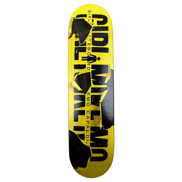 Girl Tear It Up Skateboard Deck - Mike Mo 7.875""