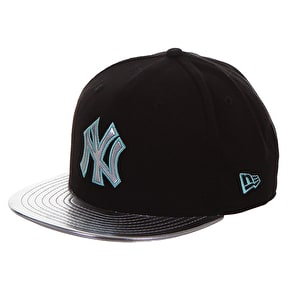 New Era 9Fifty Women's MLB Snapback Cap - NY Shine Visor