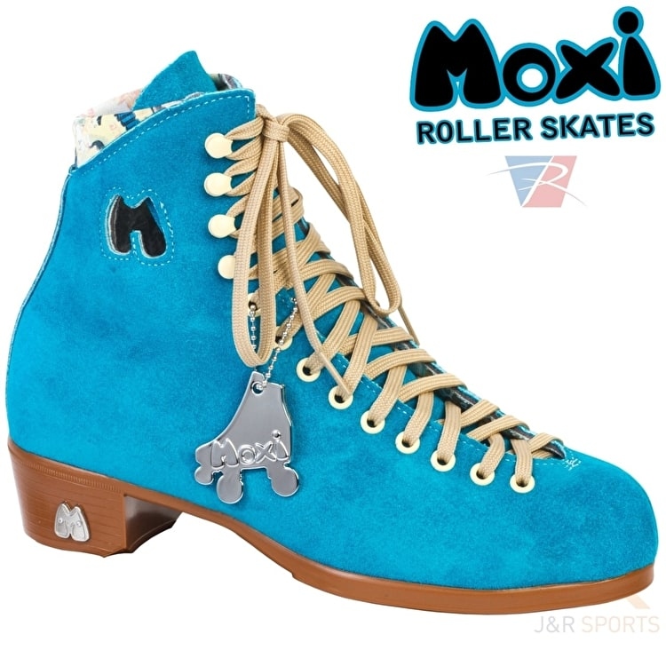 B-Stock Moxi Pool Blue Quad Roller Skates- Boot Only - UK 6 (Drilled holes)
