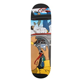 Almost Text Death Skateboard Deck 8.375
