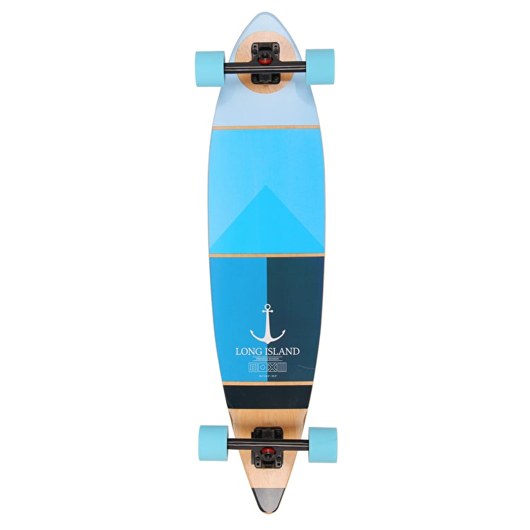"Long Island Marine 40.1"" Pintail Complete Longboard"