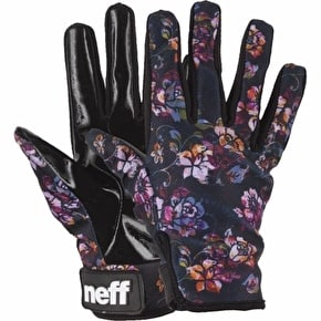 Neff Pipe Womens Gloves - Acid Blossom