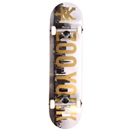 Zoo York Photo Incentive Gold 2 Complete Skateboard 7.875