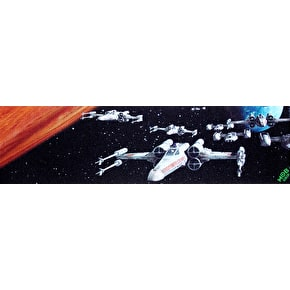 MOB x Star Wars Skateboard Griptape - Scenes X-Wing Fleet