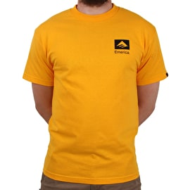Emerica Brand Combo T-Shirt - Gold