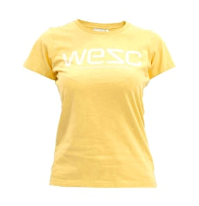 WeSC Ladies T-Shirt - Bleached Yellow