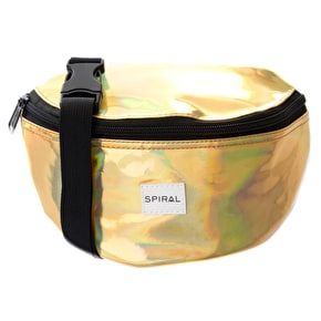 Spiral Harvard Bum Bag - Gold Rave