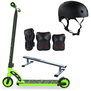 MGP VX8 Pro Scooter/Mini Grind Rail Bundle
