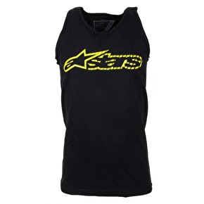 Alpinestars Blaze Speed Tank Top - Black/Yellow