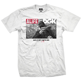 DGK x Alife T-Shirt - Run It White