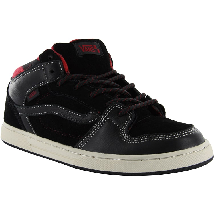 Vans Edgemont (Weather) Skate Shoes - Black/Red