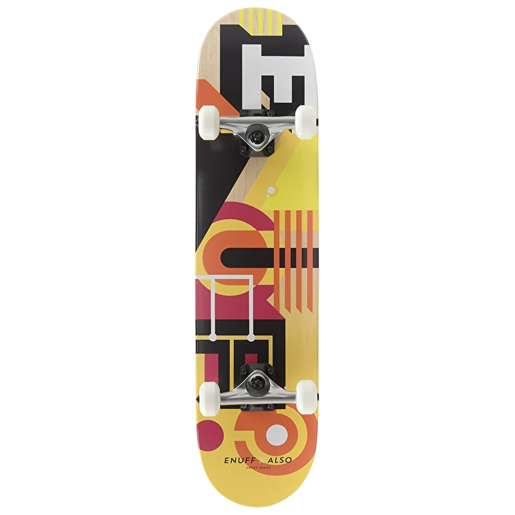 Enuff ALSO Complete Skateboard - Orange
