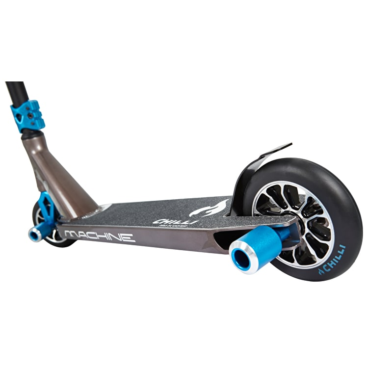 Chilli Pro 'The Machine' Complete Scooter - Black/Blue
