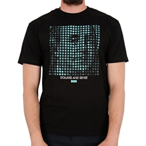 DGK Dollars & Sense T-Shirt - Black