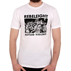 Rebel8 Bottled Violence T Shirt - White