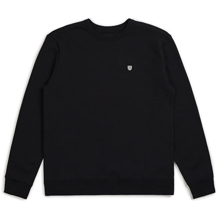 Brixton B Shield Crew - Black