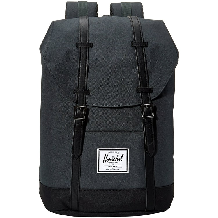 Herschel Retreat Backpack - Dark Shadow/Black