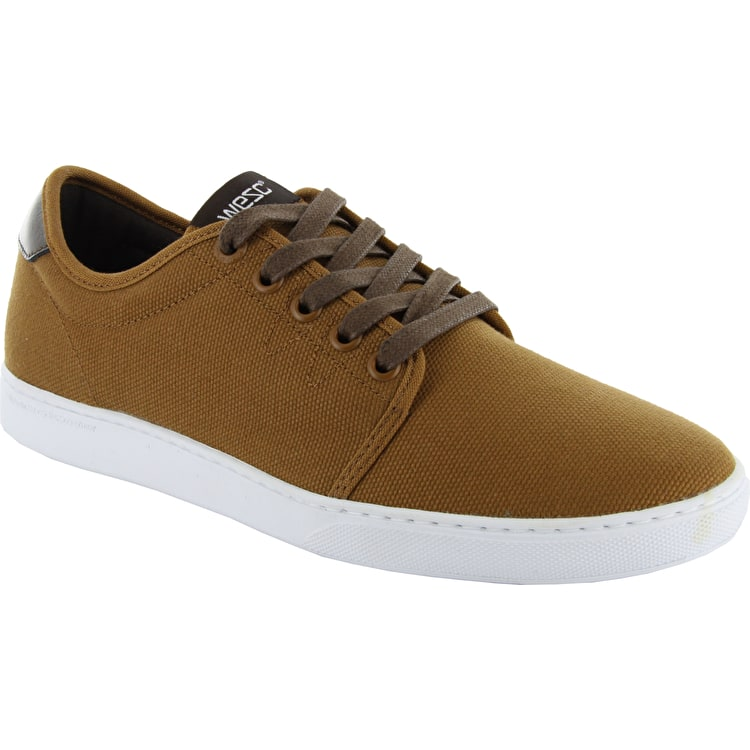 WeSC Lifestyle Edmond Shoes - Bronze / Brown Canvas