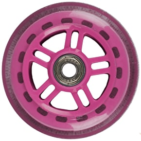 JD Bug Original Street 100mm Scooter Wheels - Pink w/Bearings