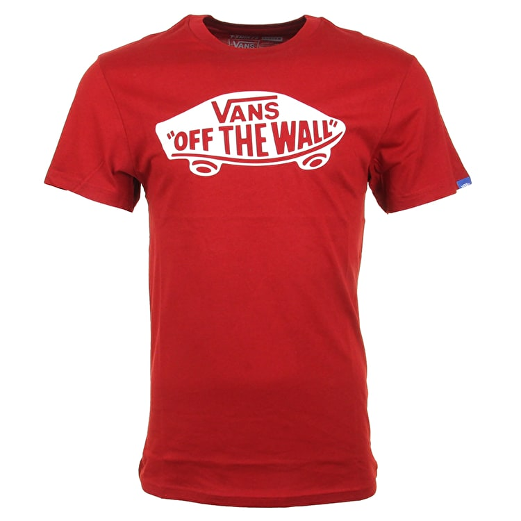 Vans OTW T-Shirt - Red Dahlia/White