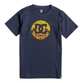 DC Sunrise Kids T-Shirt - Blue Iris