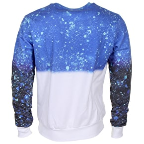 Hype Inverted Splat Script Crewneck