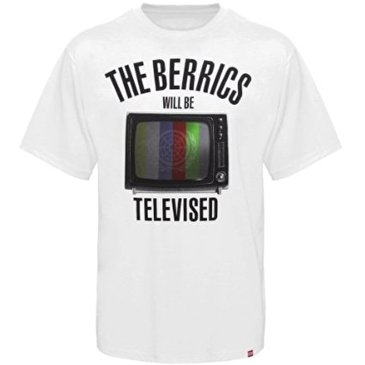 The Berrics Televised T-Shirt - White