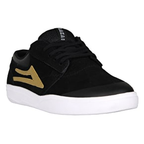 Lakai Griffin XLK Skate Shoes - Black/Gold Suede