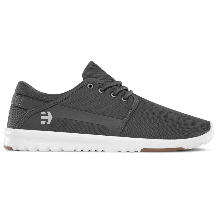 Etnies Scout Shoes - Grey/White/Gum