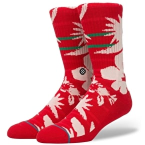 Stance Maui St Nick Socks - Red