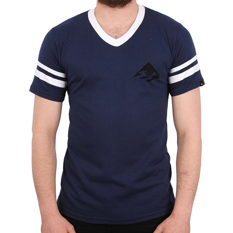 Emerica Toy Stripe T Shirt - Blue