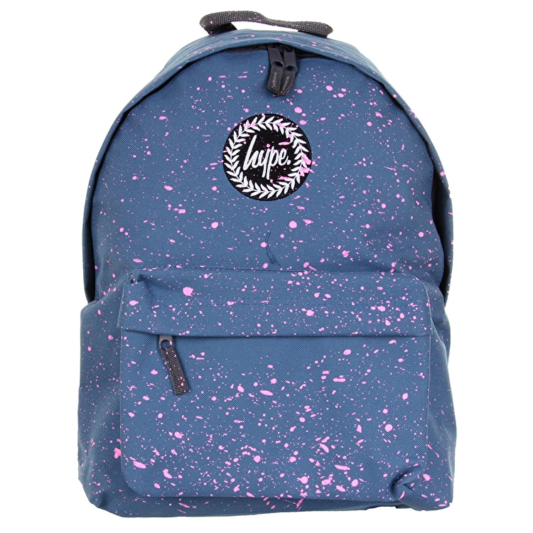Hype Splat Backpack - Airforce/Pink