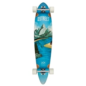 D-Street Journey Freedom Pintail Complete Longboard - 43