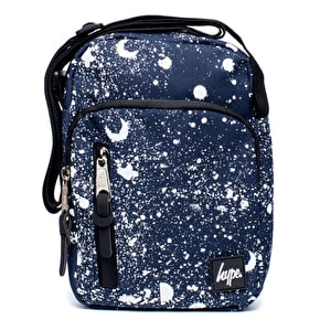 Hype Splat Roadman Bag - Navy/White